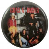 Guns N'Roses - 'Dead' Button Badge